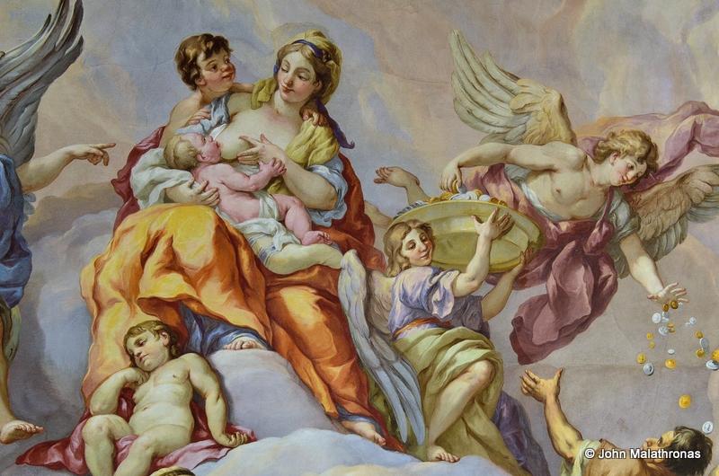 Madonna Feeding Baby Jesus Karslkirche
