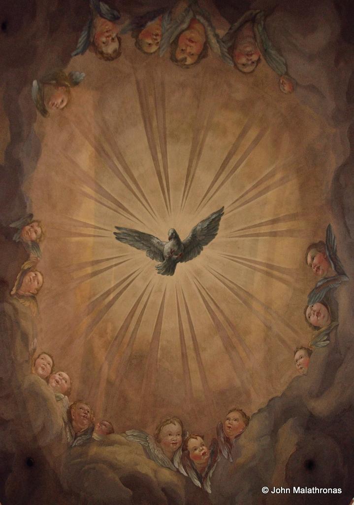 Central Dome fresco Karlskirche
