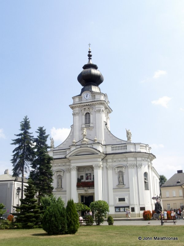 The Basilica of Virgin Mary in Wadowice