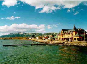Puerto Natales view  Chile