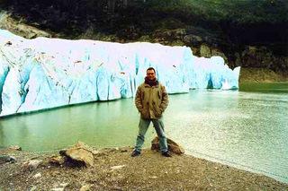 Serrano glacier patagonia chile