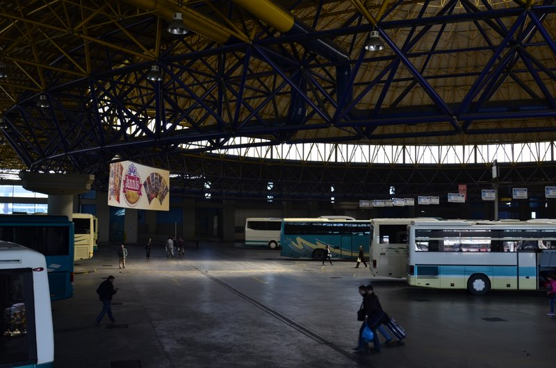 Salonika Bus station