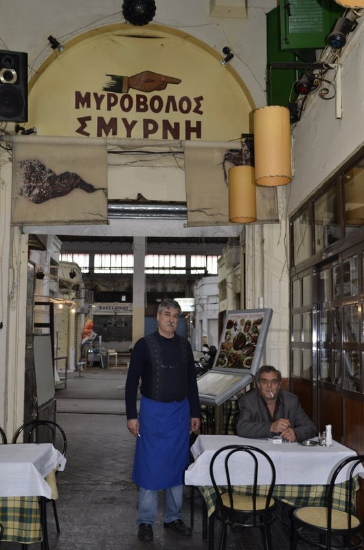 Salonika Most Greek looking taverna ever Myrovolos Smyrni