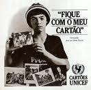 Pixote advertising UNICEF Cards