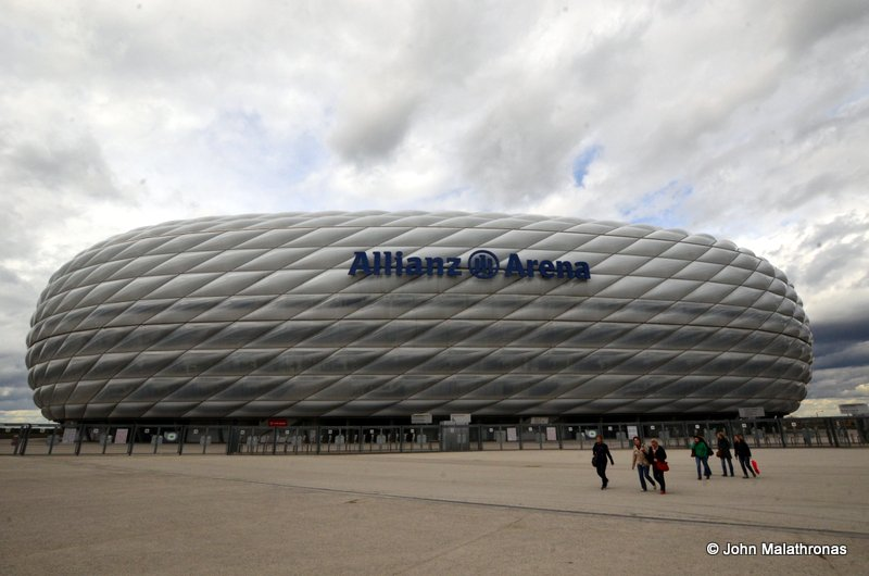 Allianz Arena, the Bayern Museum Stadium