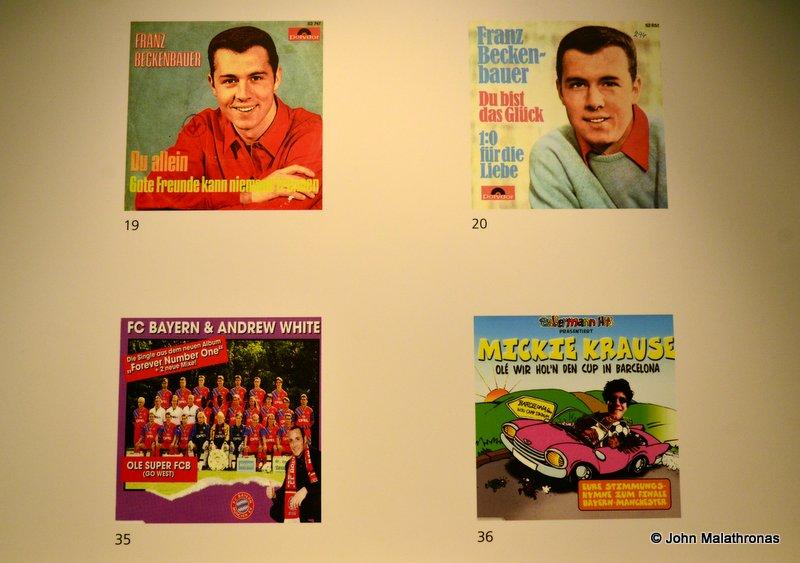 "Beckenbauer and Bayern 7"" singles"