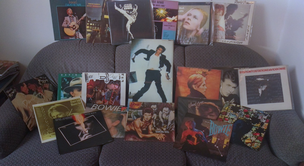 My Bowie records
