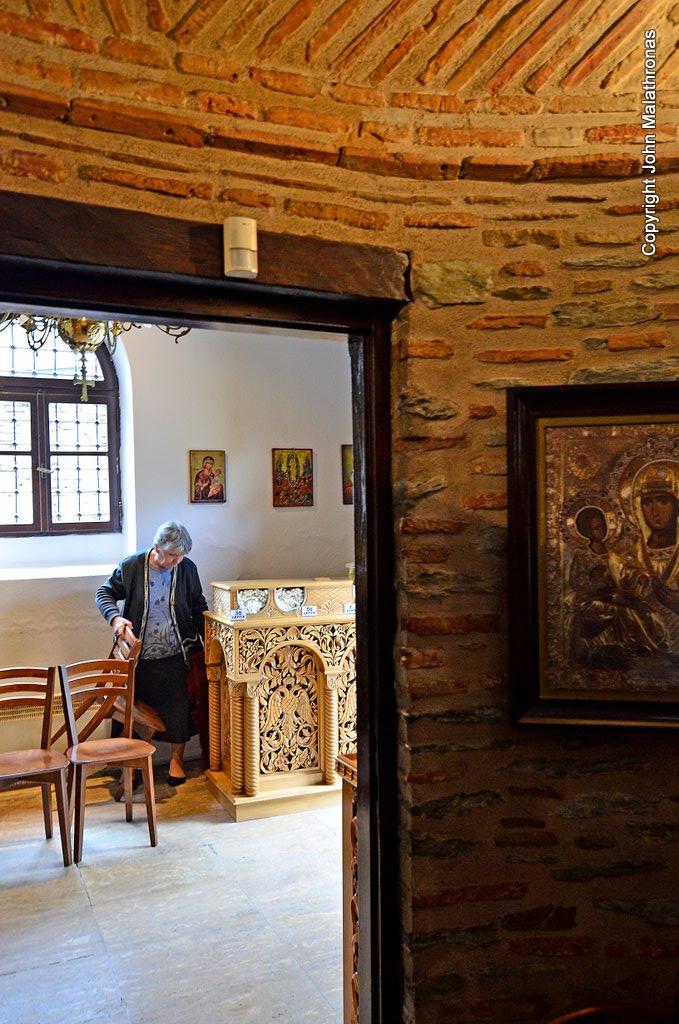 Interior of St Saviour's