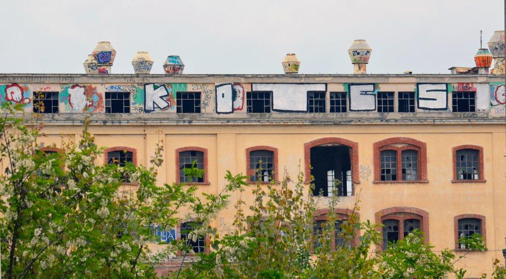 Graffiti in the Alatini Factory