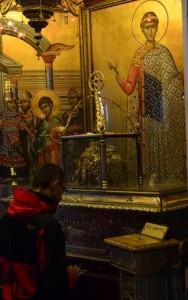Salonika St DemetriusVeneration of the relics of St Demetrius