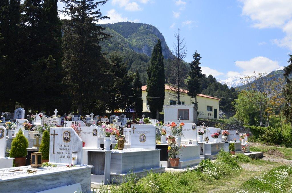 cemetery litohoro Greece