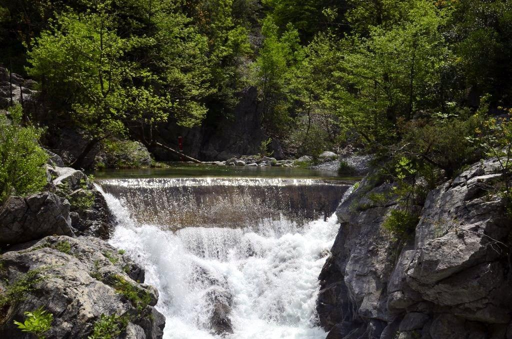 Litohoro fountain Greece