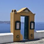 Gate to nowhere Fira Santorini