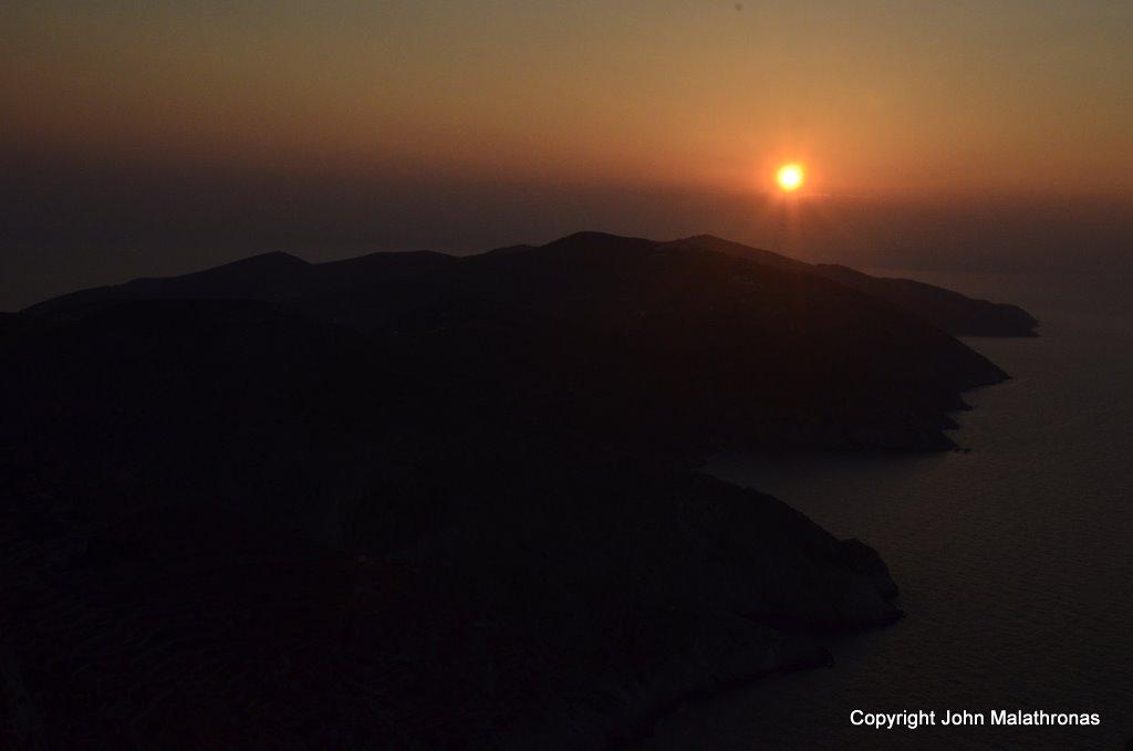 Sunset on Folegrandros