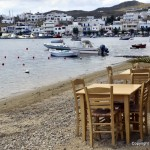 Taverna, port of Livadi, Serifos