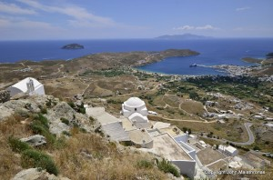 View of Livadi from Chora
