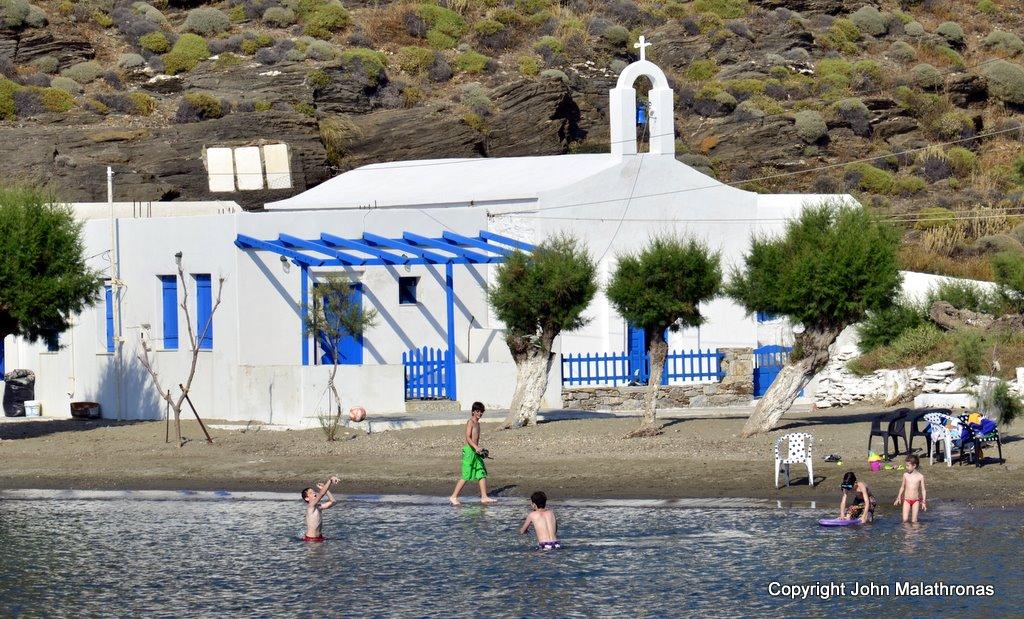 Agia Marina, Kythnos