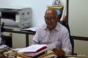 Local councillor Mykonos