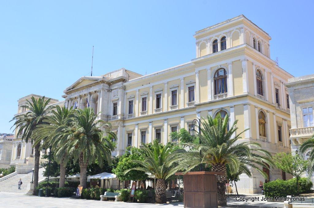 Italianate building Syros