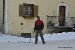 Hom STrom Scuol Switzerland young men with whips