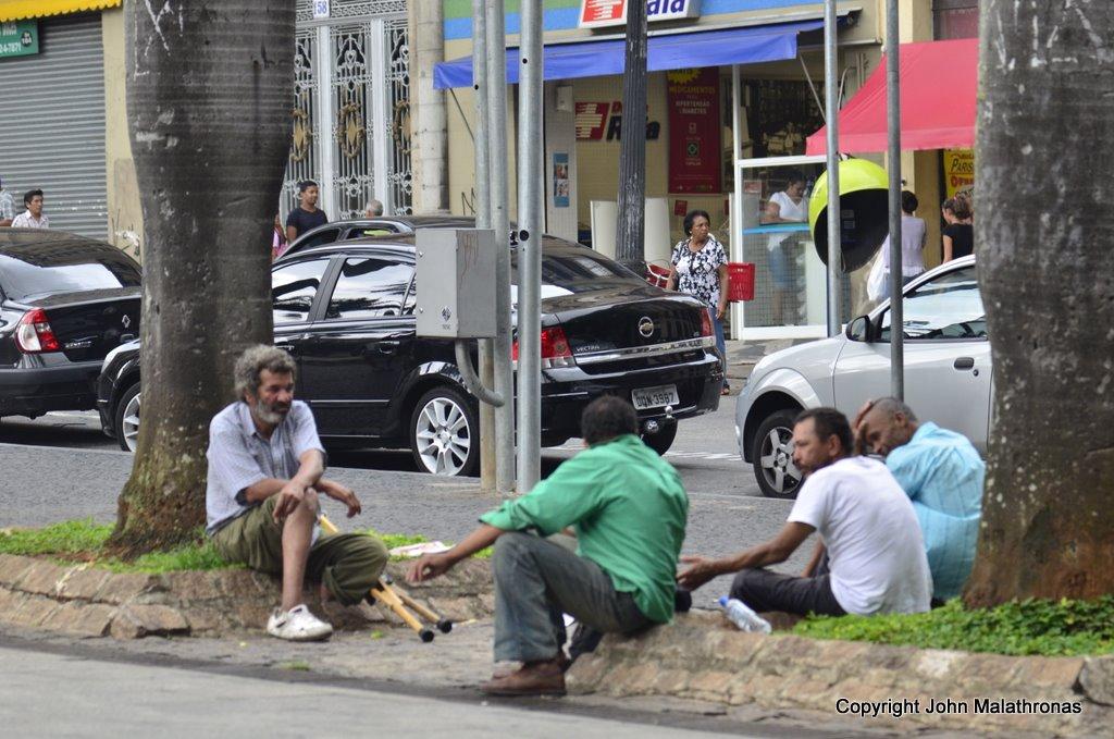 beggars sao paulo brazil