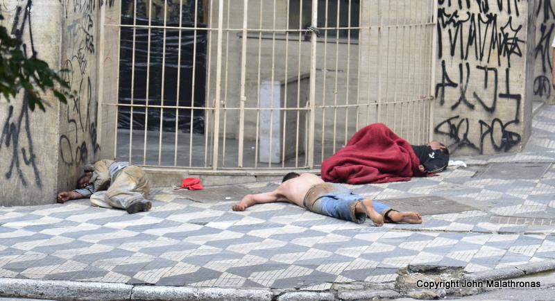 Homeless, Sao Paulo Brazil