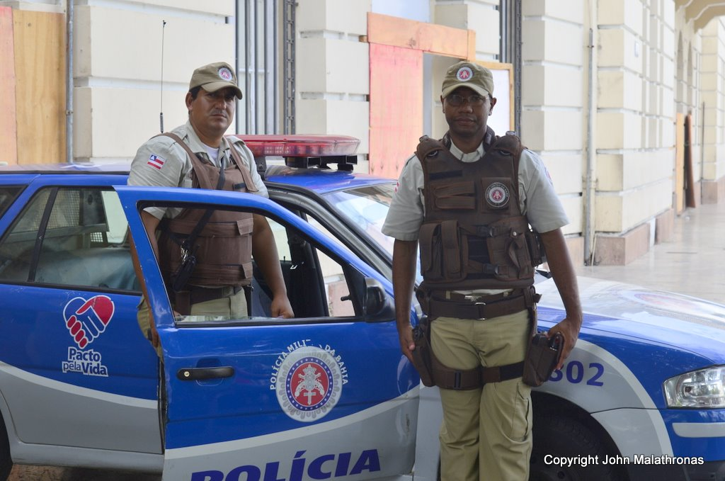 Policing Pelourinho Salvador