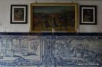 Portuguese azulejos in the sacristy of São Francisco Salvador