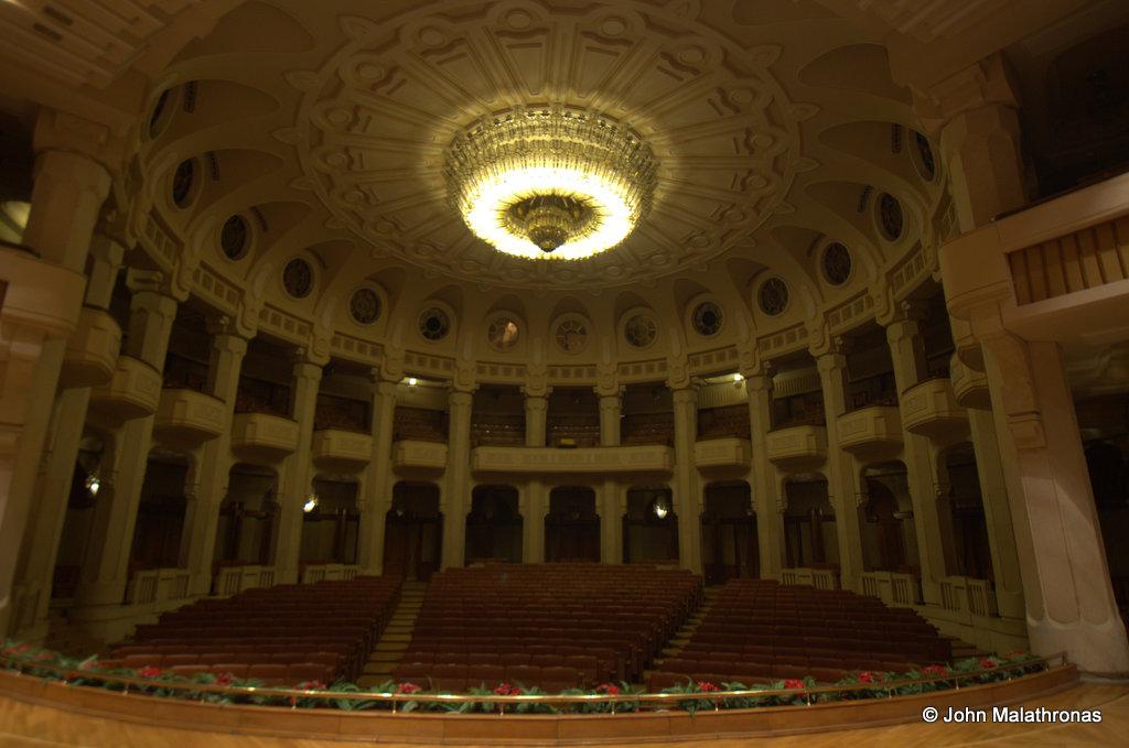 Ceausescu's private theatre