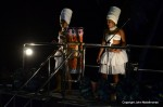 Afro dancers Salvador Carnival