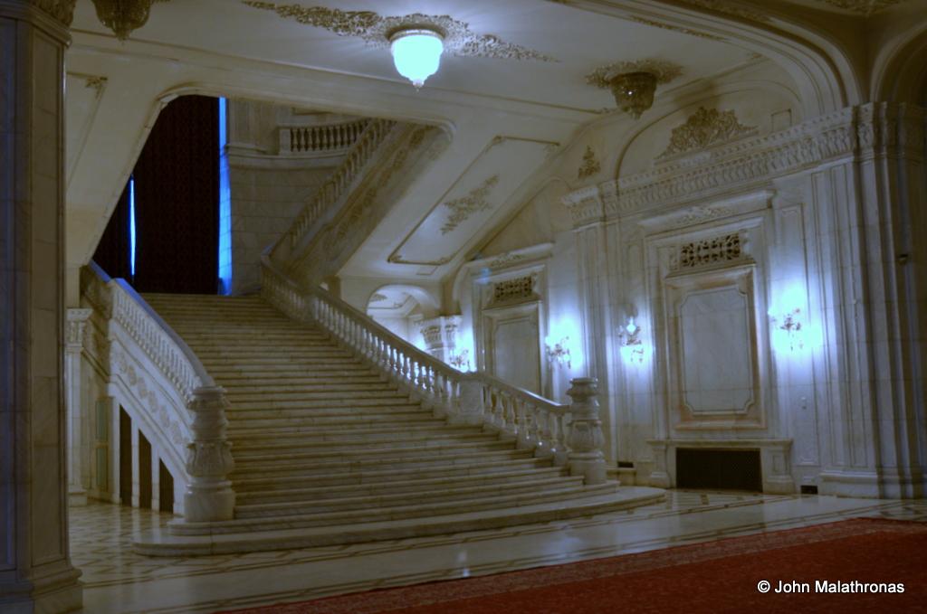 Ceasuescu's staircase