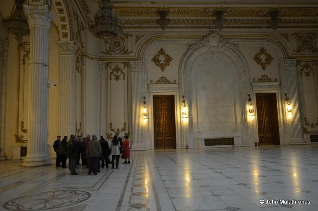 Union Hall, Parliament palace, Bucharest