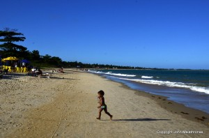 Mundaí beach Brazil