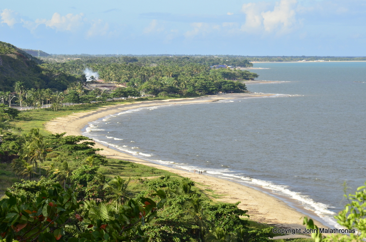 Beaches of Porto Seguro Brazil