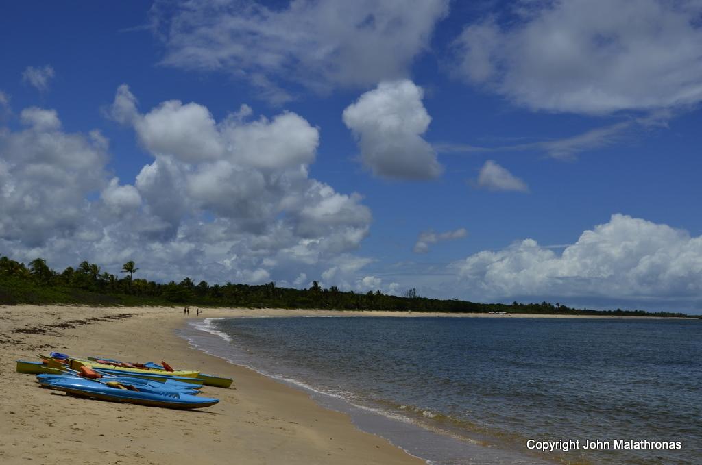 Taperapuã beach Porto Seguro Brazil