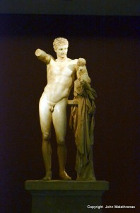 Hermes by Praxiteles Olympia