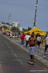 Skater, Ipanema Brazil