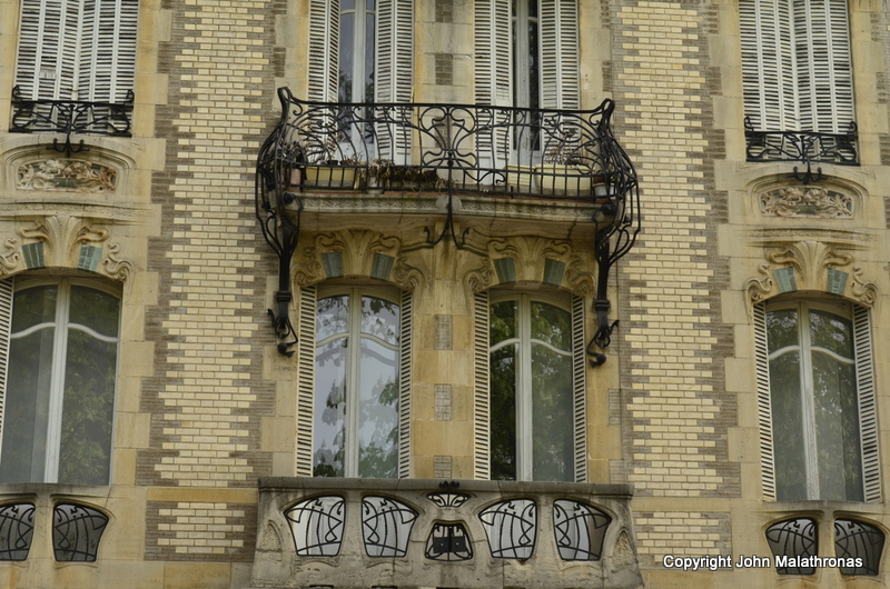Balconies on Cours Leopold nancy