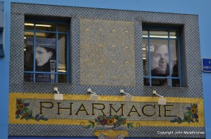 art nouveau Pharmacy on rue St Georges nancy