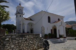 The church of Faneromeni, Skopelos Town, Sporades, Greece