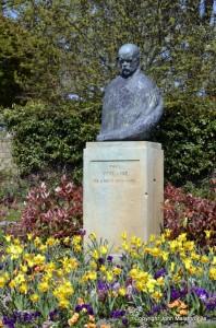 Statue of Paul Verlaine Metz