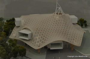 Metz Pompidou Centre – maquette.
