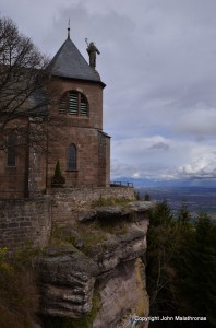 The nunnery of St Odile