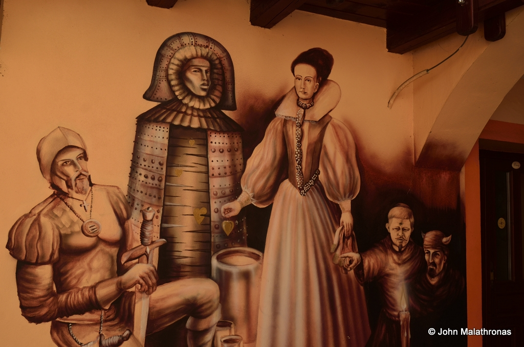 Bathory mural Cachtice