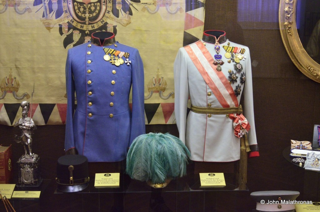 Two different uniforms for Kaiser Franz Josef