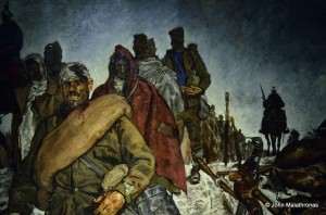 World War I: Serbian Prisoners of War (detail) by Roland Strasser (1895 - 1974)