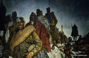 World War I: Serbian Prisoners of War (detail) by Roland Strasser (1895 - 1974)
