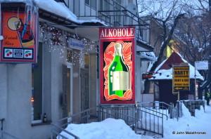 An Alkohole in Zakopane