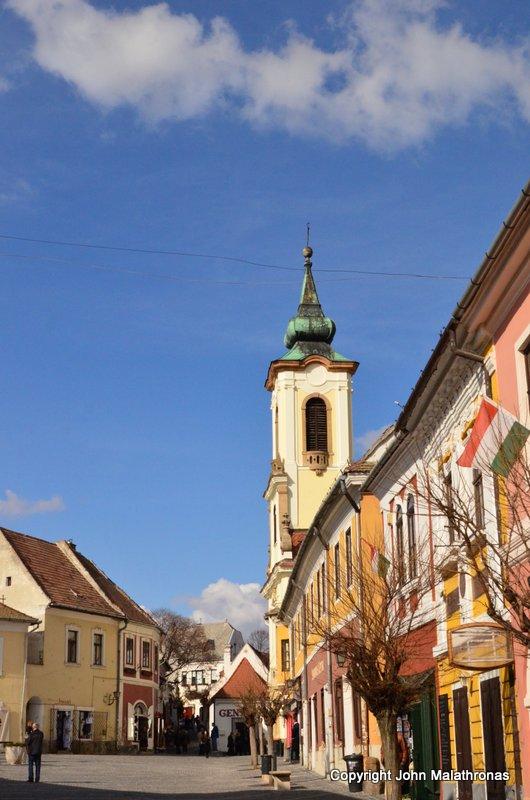 Szentendre outside Budapest
