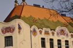 The Art Nouveau Cifra Palace in Kecskemet